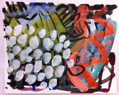 Judith B. Farr acrylic and pencil on paper 297mm x 420mm | Flickr - Photo Sharing!