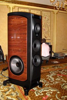 """Sonus faber introduced a spectacular new $200k multiway floorstander with side-firing woofers, originally called the Fenice but now simply denominated """"The Sonus Faber."""" Driven by ARC's Reference 40 preamp and ARC's Class D DS450 stereo amp on Day One and ARC's 610Ts on Day Four (when I returned for a second listen), The Sonus Faber is unquestionably the best speaker this company has made. Loudspeakers $25k and Above at CES 2011 