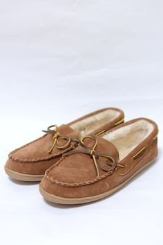 J.CREW SUEDE SHEARLING MOCCASINS 6,800円(内税)