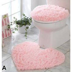 Crazy Hot Pink Furry 70 S Toilet Seat Cover Toilet Seats