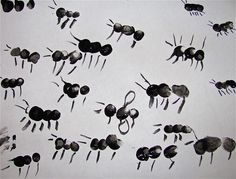Fingerprint Ants  -Repinned by Totetude.com