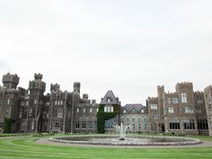 Ashford Castle Hotel is a Wedding Venue in Cong, Mayo, Ireland. See photos and contact Ashford Castle Hotel for a tour. Ashford Castle Hotel, Birthday Party Venues, West Coast Of Ireland, Romantic Weddings, Real Weddings, See Photo, Skyline, Tours, City