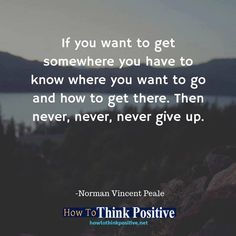 If you want to get somewhere, you have to know where you want to go... #life #happy #quotes #inspiration #motivation #love #win #sad #quoteoftheday #success #like #words #poetry #hope #wisdom #knowledge #loa #goodvibes Don't forget to check out what we recommend to help you get out of negative thinking. See our profile link at @howtothinkpositive