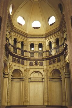 Bramante - Sacrestia della Chiesa di Santa Maria presso San Satiro, Milano - 1:20