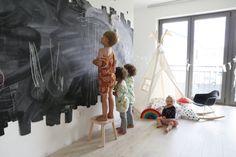 Kids teepee  tipi  play tent  high quality play by MoozleTeepee #moozleteepee #coolkidsroom #kidsroomdecor #teepee #tipi #chalkwall #trendykids #kidsteepeetent