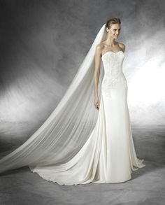 Pronovias Wedding Dresses - Style Talia
