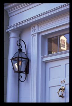 Charleston Lantern - replacing our outdoor fixtures with these