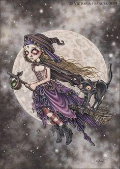 El vuelo de la bruja - Victoria Frances