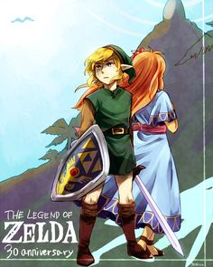 Finally someone recognizes that the Legend of Zelda franchise has been around for 30 years
