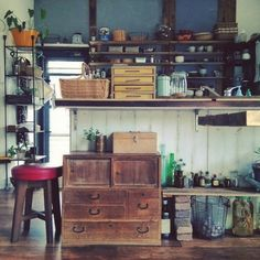 miyo1683さんの、手作り,リメイク,古道具,DIY,和箪笥,部屋全体,のお部屋写真