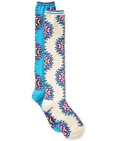 Hot Sox Tribal Twist Knee High Socks - Tights & Socks - Handbags & Accessories - Macy's