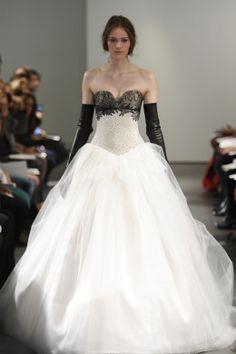 2014 Bridal Spring/Summer Collection, at the Vera Wang Bridal Show. Soooo glam... (Via Time Style)