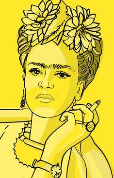 frida kahlo paintings Custom Pop Art Style Portrait Digital Only Pop Art Portraits, Portrait Art, Frida Kahlo Tattoos, Frida Kahlo Portraits, Art Sketches, Art Drawings, Frida Paintings, Abstrakt Tattoo, Desenho Pop Art