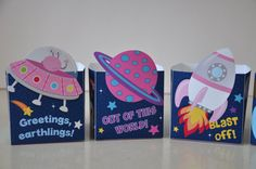 ON SALE NOW 4 Space Rocket party pdf printable outer space