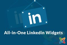 All-in-One Linkedin Widgets for joomla
