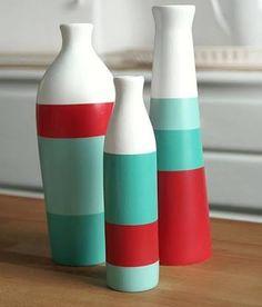 Resultado de imagen para jarrones hechos con cartón