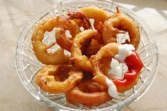 Make Homemade Onion Rings; these are AMAZING!! just made them with supper :)