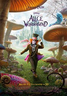 Movie poster Alice in Wonderland
