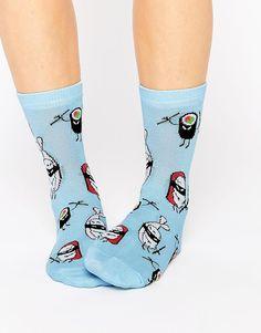 ASOS Ninja Sushi Design Ankle Socks