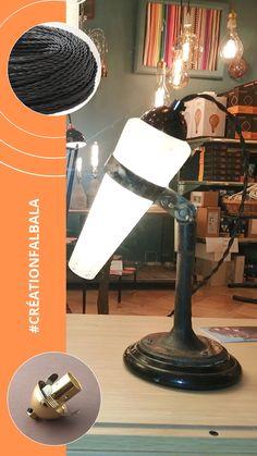 Création d'une lampe à poser noire dans notre atelier-boutique d'Apt  #creationluminaire  #luminaire #lightdesign #upcycling  #lampe #decorationinterieure