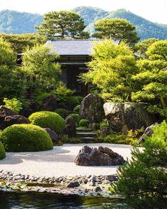 Adachi Museum of Art gardens...well worth a visit #adachimuseum