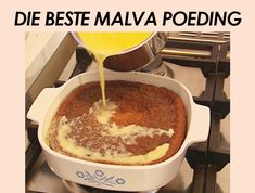 Recipes/resepte – Page 15 – Kreatiewe Kos Idees South African Desserts, South African Dishes, South African Recipes, Kos, Malva Pudding, Pudding Recipes, Desert Recipes, Sweet Recipes, Tart Recipes