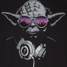 Coolest latest gadgets – Geeky Clothing – Yoda DJ T-Shirt – New technology gadgets – High tech electronic gadgets Silhouette Cameo, Silhouette Portrait, Silhouette Projects, Silhouette Studio, Dj Yoda, New Technology Gadgets, Latest Gadgets, Stencil Art, Stenciling