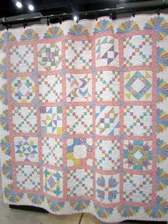 Quilt with 30's style fabrics - from Maywood