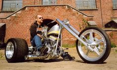Chopper Trike ! by Danny Franssen. one of my most favourite builders. see what…