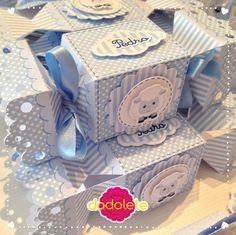 Caixa Bala Ovelhinha Azul
