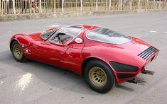 The 1968 Alfa Romeo Tipo 33 Stradale — 95 Customs Classic Sports Cars, Classic Cars, Sport Cars, Race Cars, Alpha Romeo, Alfa Romeo Cars, Classic Motors, Automotive Design, Auto Design