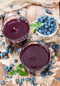 Blueberry juice is packed with powerful antioxidants and nutrients for health and beauty.  Get the details.  www.all-about-juicing.com