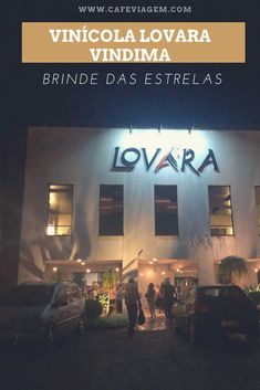 Dica de programa noturno na Vindima da Serra Gaúcha: Brinde das Estrelas na vinícola Lovara Nocturne, Stars