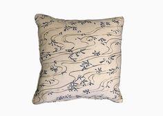 CHIYO'S POND    The Chiyo's Pond pillow in Indigo