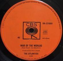 WAR OF THE WORLDS / THE BOW MAN | ATLANTICS | Min Bid: $60.00 AUD | 7 inch single | music4collectors.com