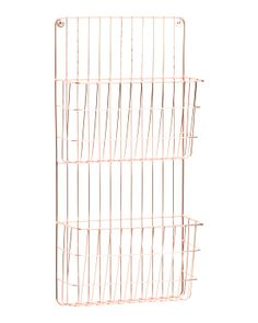 2 Tier Wall File Holder