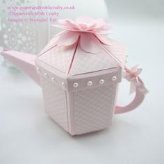 Papercraft With Crafty: More Tea Anyone - Teapot !