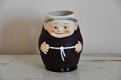 Very cool, vintage Goebel beer mug, made in West Germany. A real collectors item and great gift for the beer lover. In good vintage condition, with some light signs of use. No cracks or chips.  Signed on the bottom. Size app. 5.3 inches Diameter 3 inches