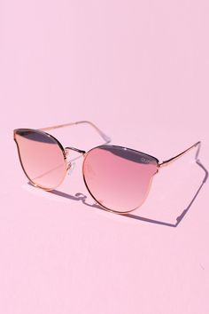 ef11ce1a24d QUAY All My Love - Rose Gold with Pink Mirror Lens
