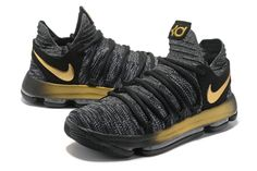 83847181ed4 KD 10 X EP Oreo Gold 897816 001 Kevin Durant Mens Basketball Shoes 2018  Purchase