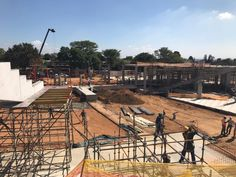 DBM Architects | Site progress being made on CRC (Christian Revival Church) on Witkoppen, Johannesburg  #dbm #architects #architecture #design #religious #institution #Johannesburg #SouthAfrica South Africa, Architects, Architecture Design, Christian, Architecture Layout, Building Homes, Christians, Architecture