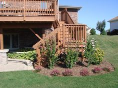 walkout basement with deck - Google Search