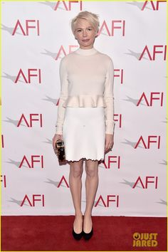 Michelle Williams, Amy Adams, & Naomie Harris Celebrate Their Films at AFI Awards
