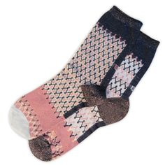 Vivid Glitter & sparkle socks by Oybo socks