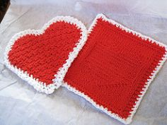 This set includes instructions for potholder, hotpad and dishcloth.