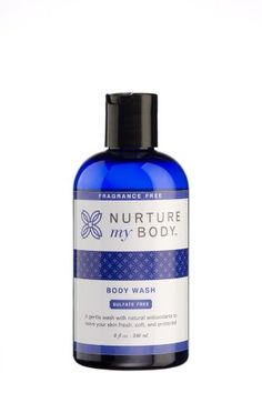Nurture My Body Fragrance Free Organic Body Wash  SLS Free  For Sensitive Skin  8 fl oz -- Be sure to check out this awesome product.
