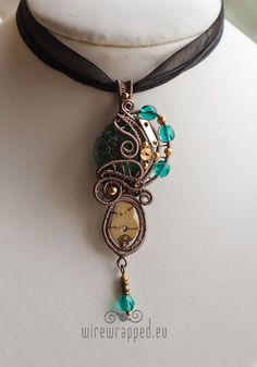 Image result for steampunk wire wrapped jewelry