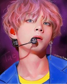 All of BTS fanart and kpop #BTS #V