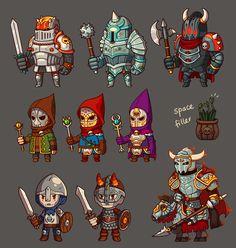 game enemies: Castle by irmirx.deviantart.com on @deviantART