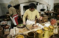 The Tudor kitchens at Hampton Court Palace are a living monument to 230 years of royal cooking and entertainment.